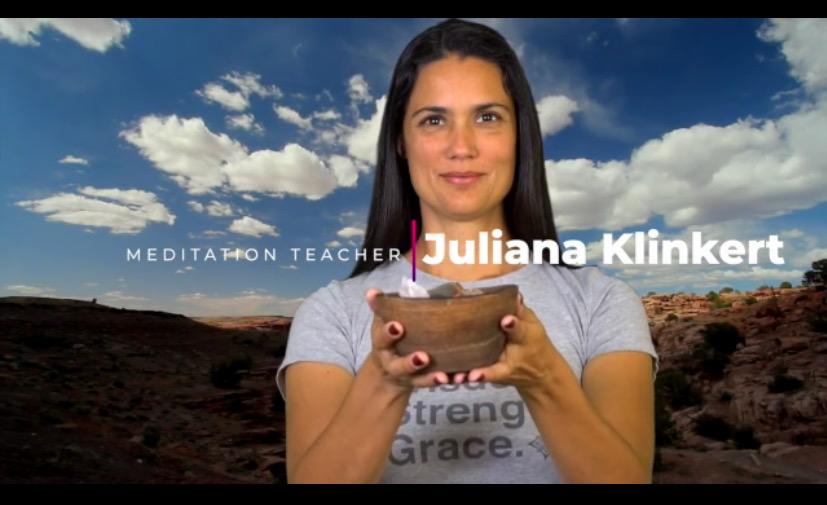 juliana Klinkert Profesora de meditacion
